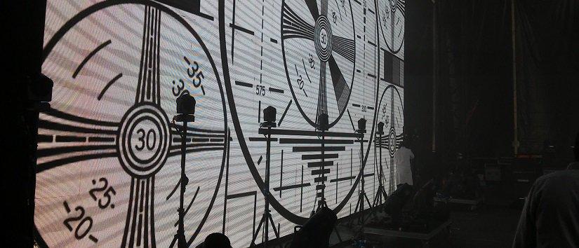 proyección de video BBK Live audiovisuales extremiana