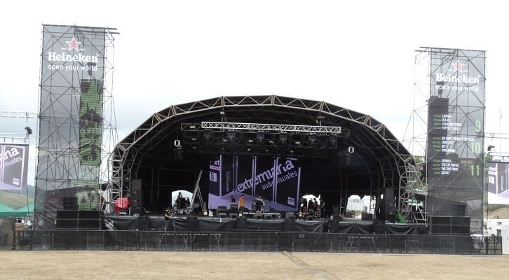 pantallas led conciertos BBK Live 2015 audiovisuales extremiana